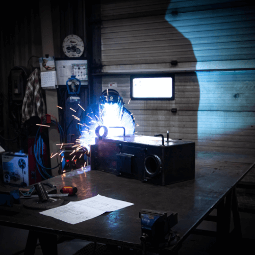 Welding - in-House Manufacturing