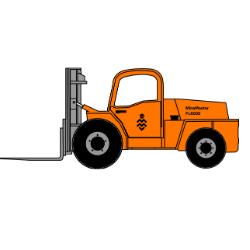 MM8000- Diesel Forklift